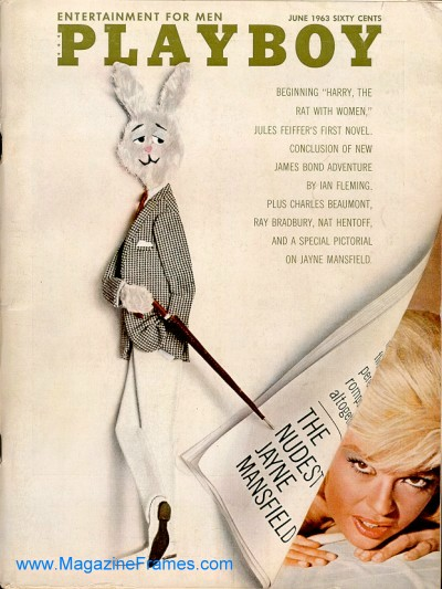 1963 Playboy Covers At Thepaperframer Com