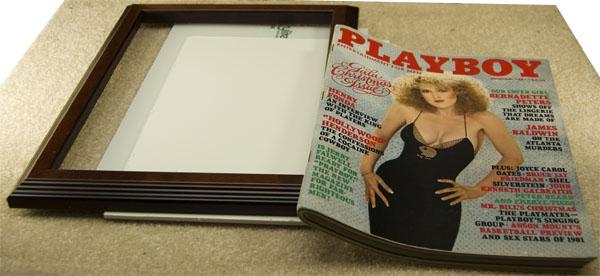 Framing A Thick Magazine At Thepaperframer Com