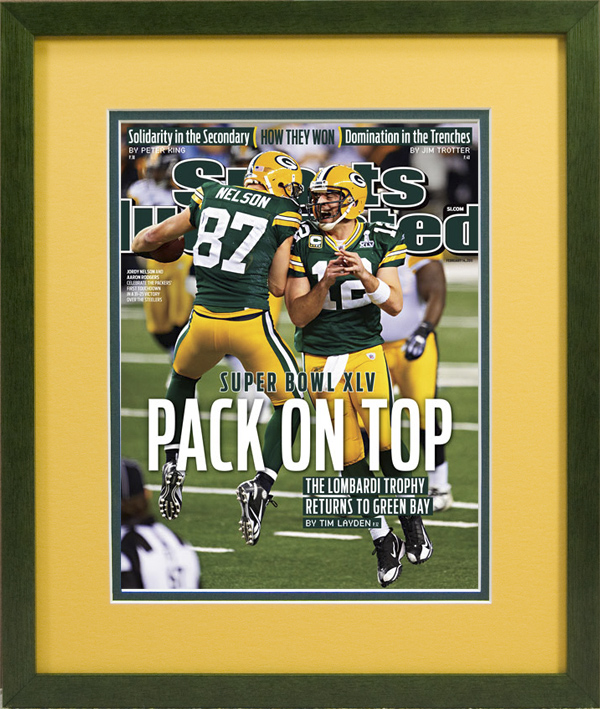 magazine display frame sports illustrated pack on top 201