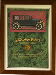"Frame for Vintage Advertisment. Frame #631 Cherry 3/4"". Price $27.95 as configured"