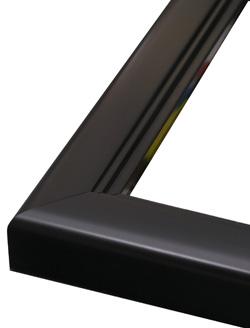 Frame 619 Opaque Black 1 3/8