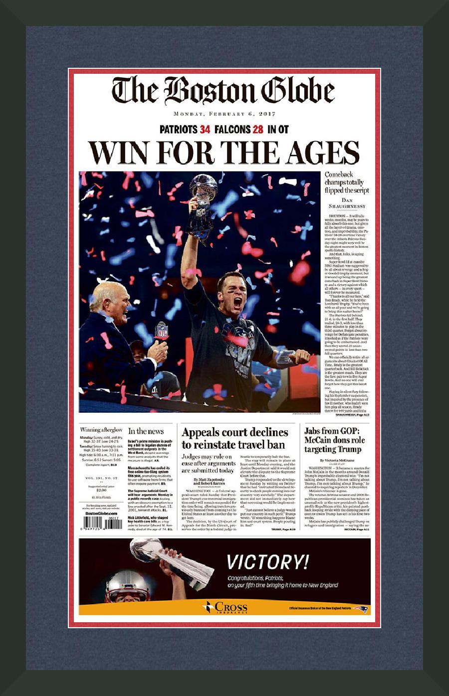 Philadelphia Phillies Newspaper Frame