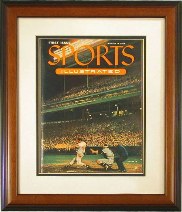 the first issue of sports illustrated