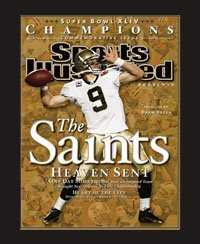 Sports Illustrated Super Bowl XLIV Commemorative Issue. Frame #203 Matte Black 1 3/16